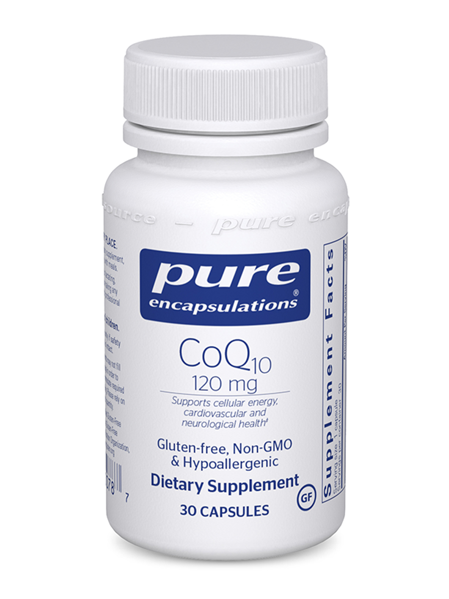 CoQ10 120 mg - 30 Capsules
