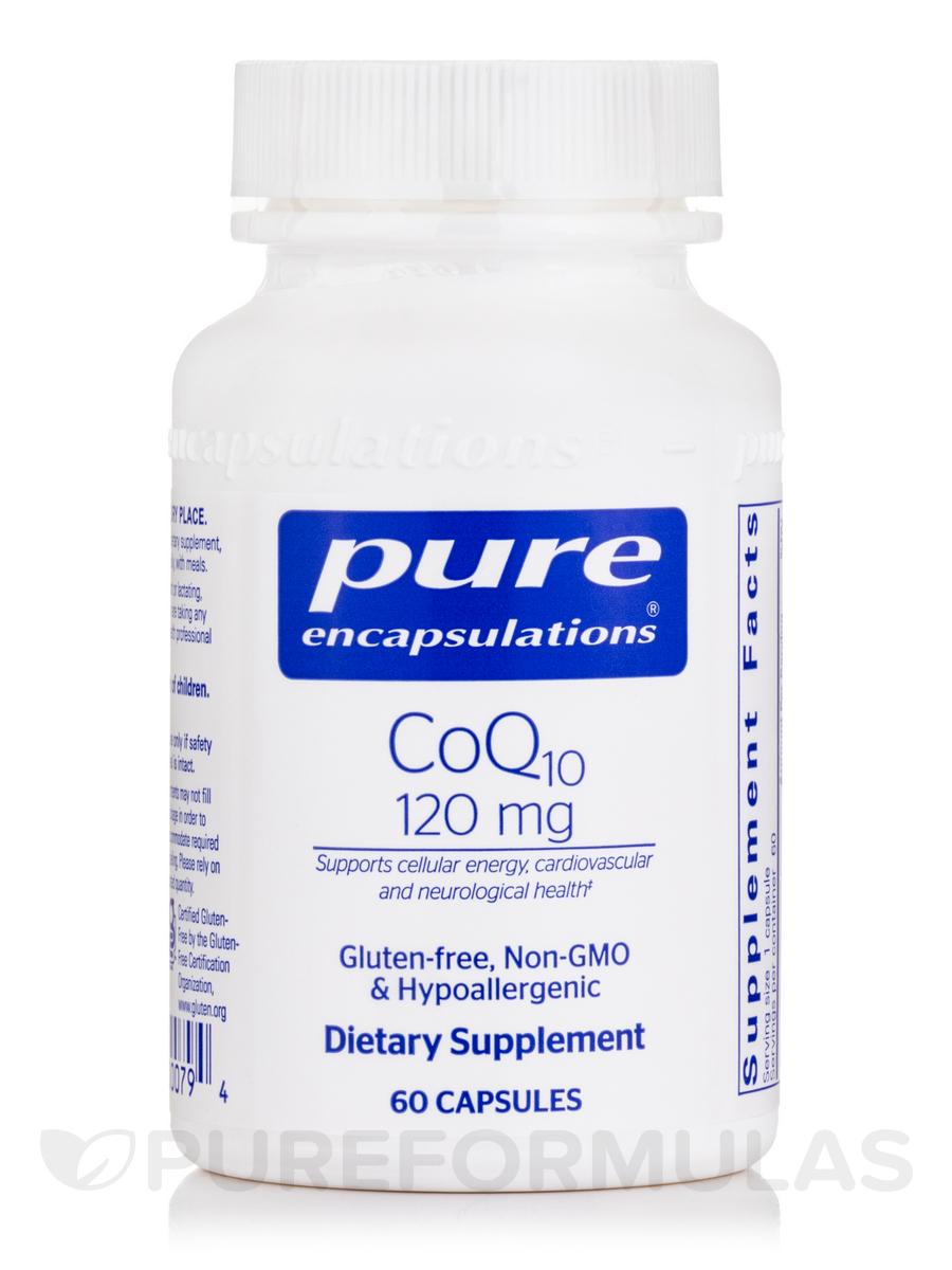 CoQ10 - 120 mg - 60 Capsules