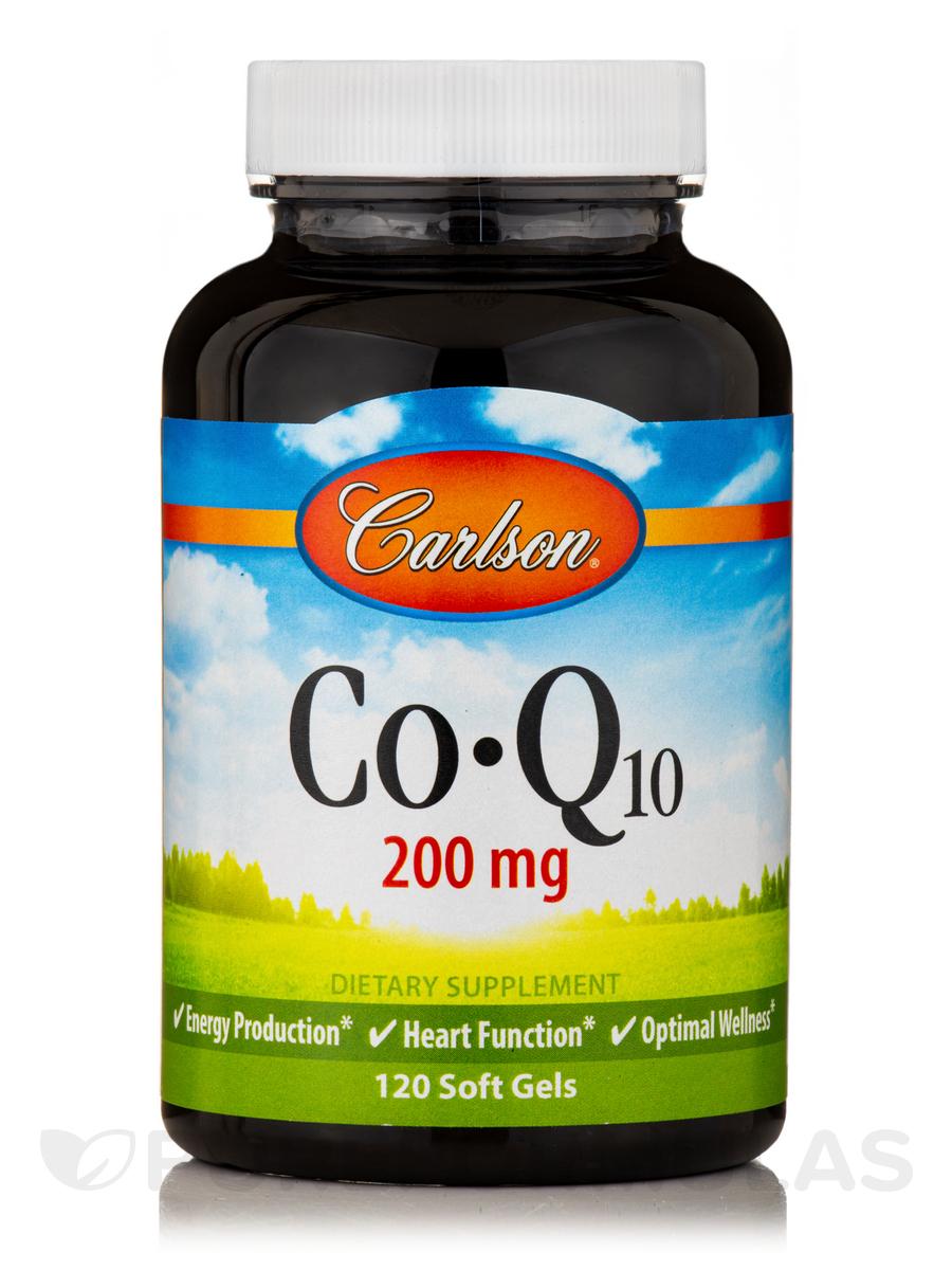 CoQ10 200 mg - 120 Soft Gels