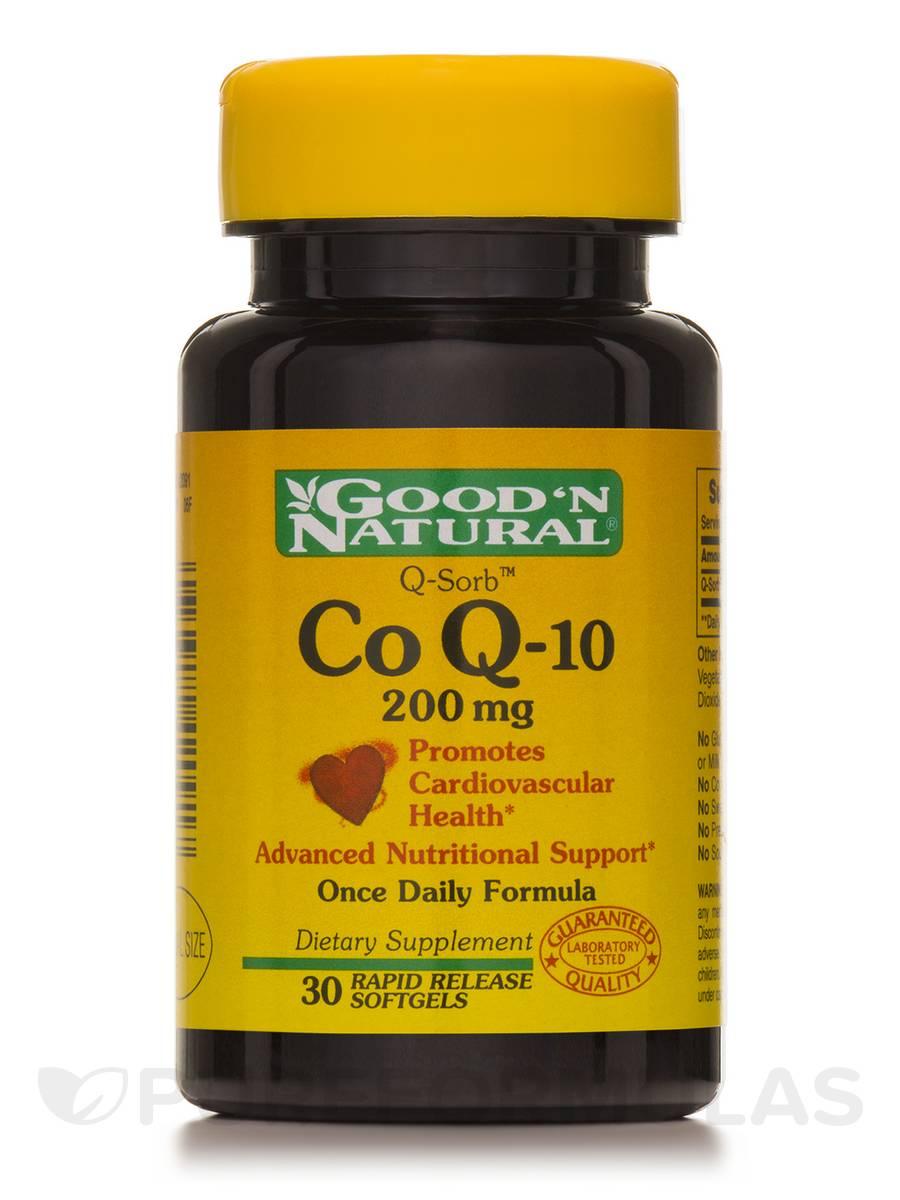 CoQ-10 200 mg - 30 Softgels