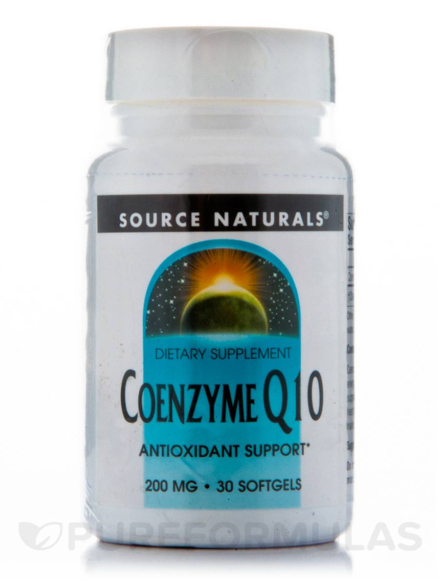 Co-Q10 200 mg - 30 Softgels