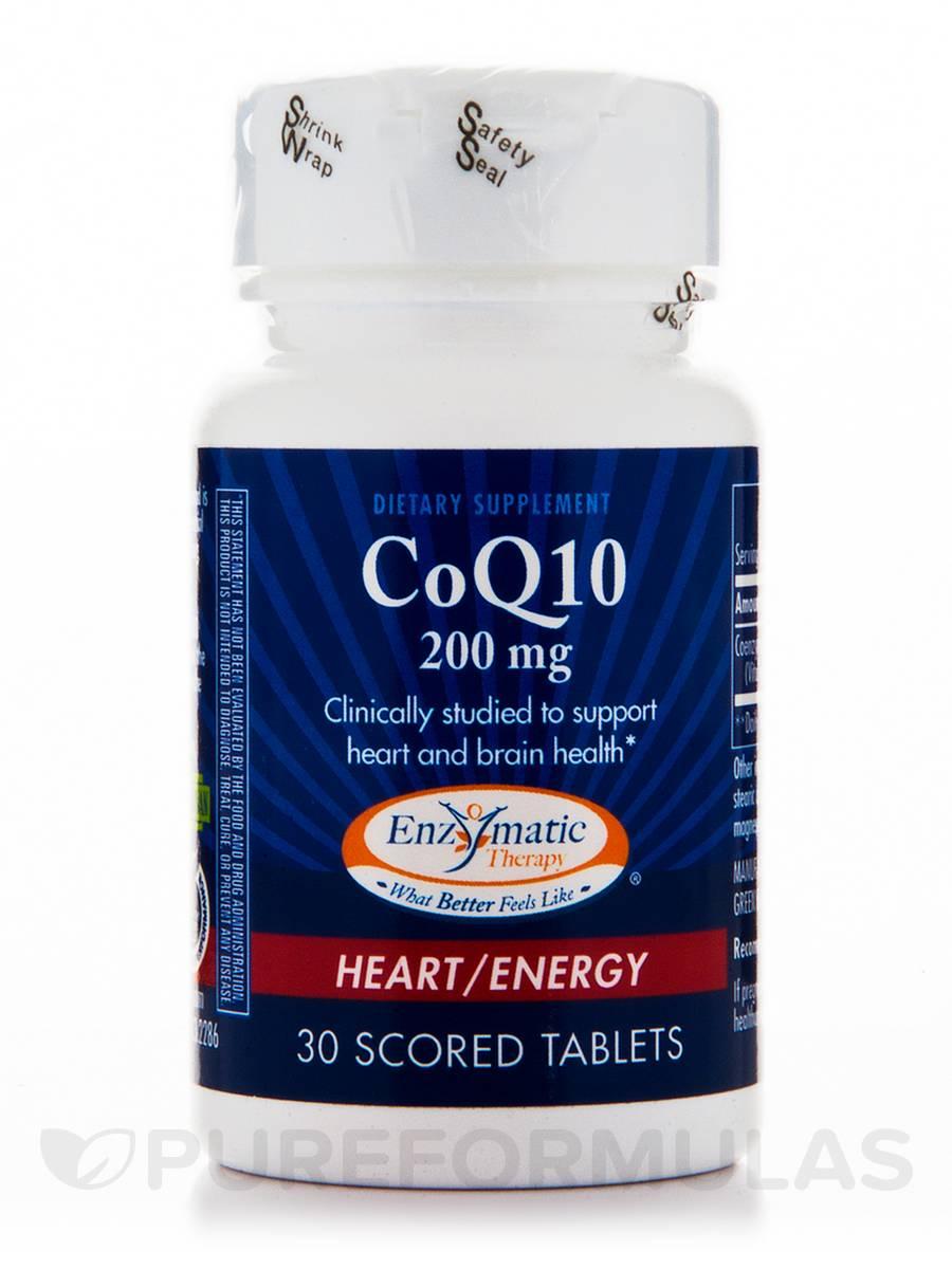 CoQ10 200 mg - 30 Tablets