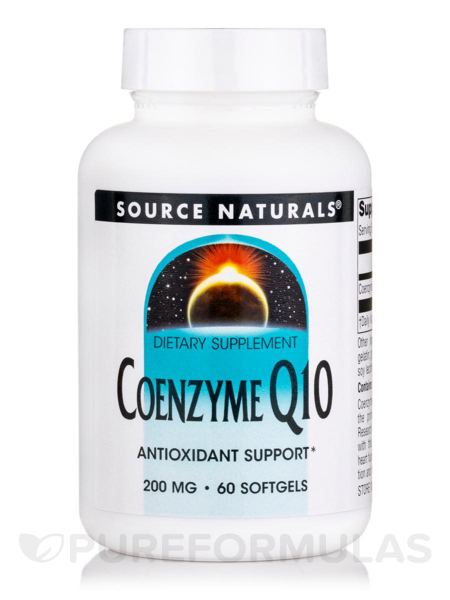Co-Q10 200 mg - 60 Softgels