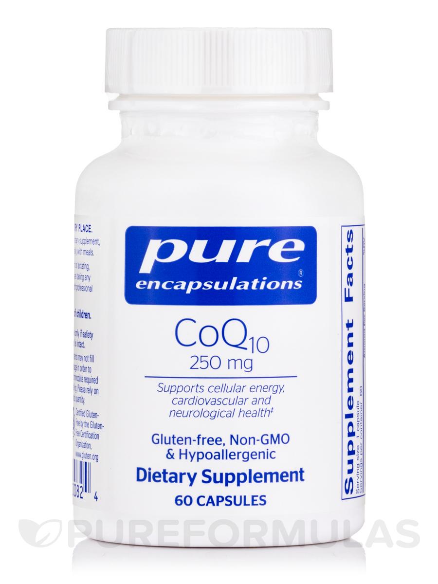 CoQ10 - 250 mg - 60 Capsules