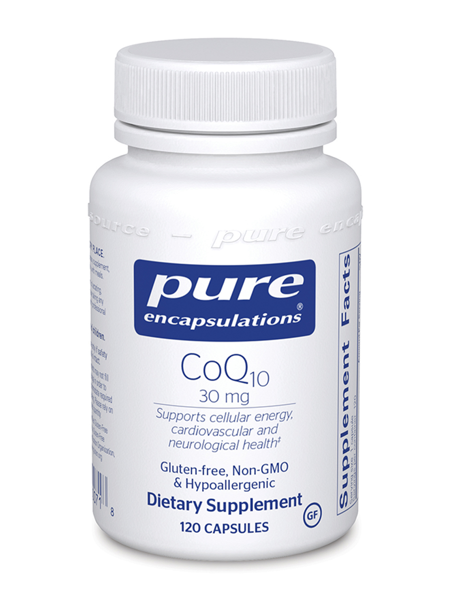 CoQ10 30 mg - 120 Capsules