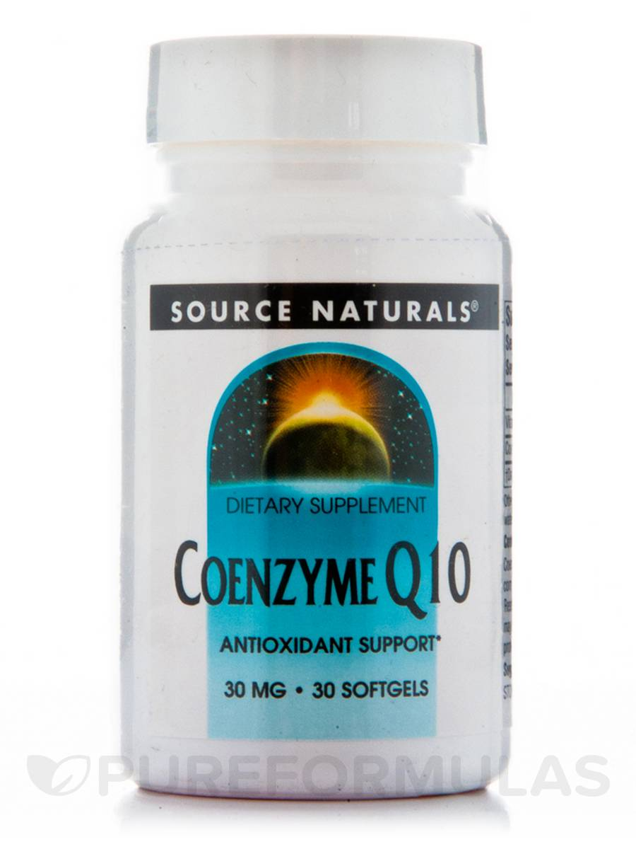 Co-Q10 30 mg - 30 Softgels