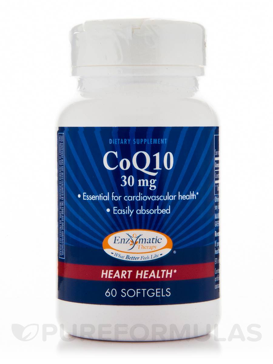 CoQ10 30 mg - 60 Softgels