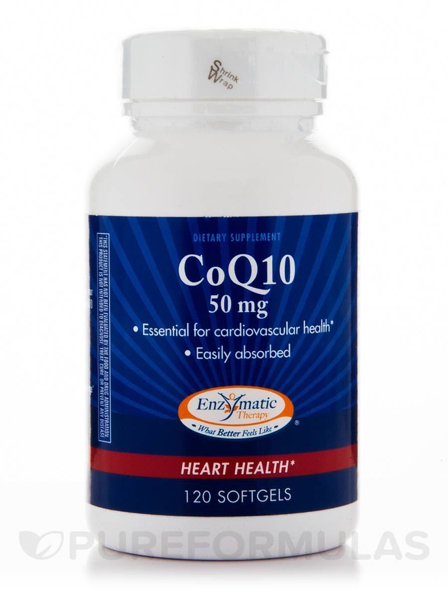 CoQ10 50 mg - 120 Softgels