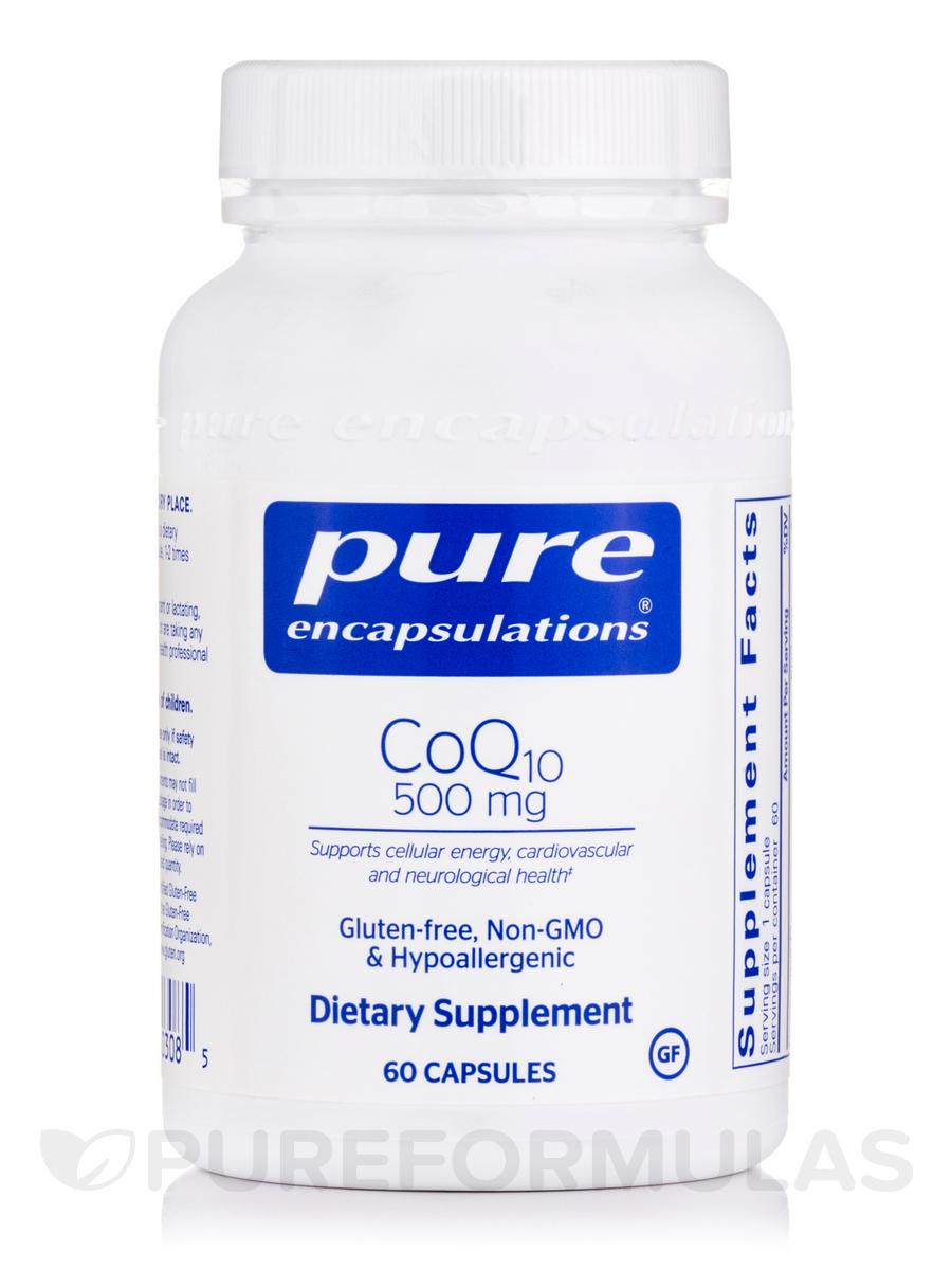 CoQ10 - 500 mg - 60 Capsules