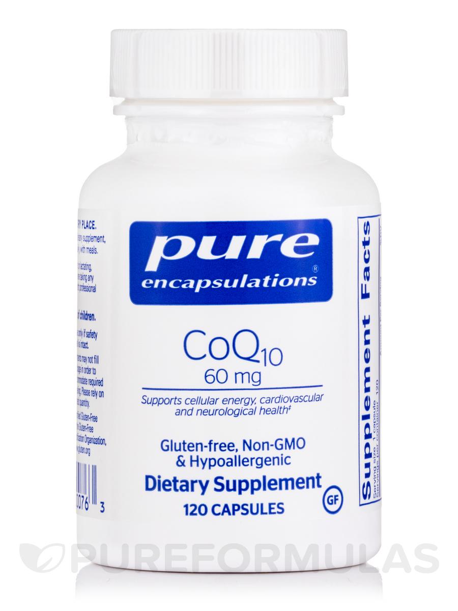 CoQ10 60 mg - 120 Capsules