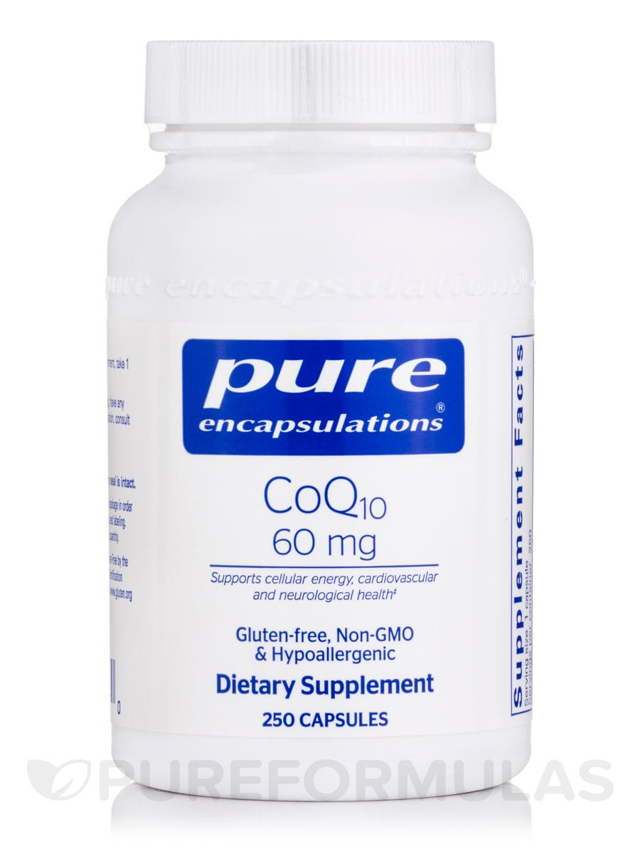 CoQ10 60 mg - 250 Capsules