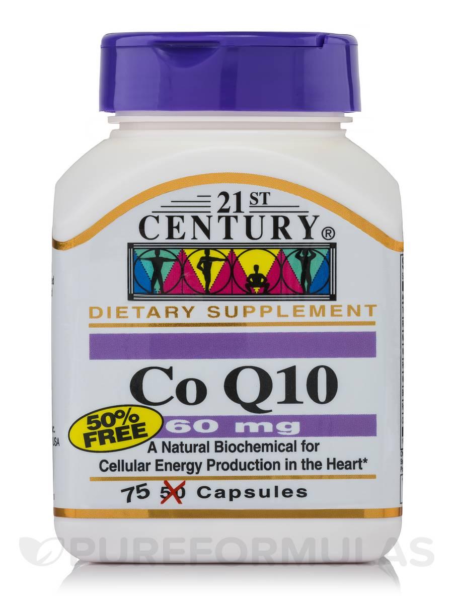 CoQ10 60 mg - 75 Capsules