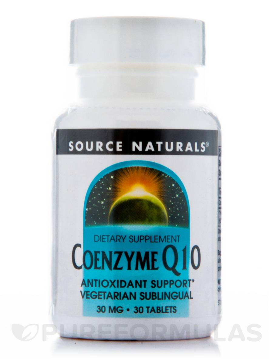 Co-Q10 Sublingual 30 mg - 30 Tabalets