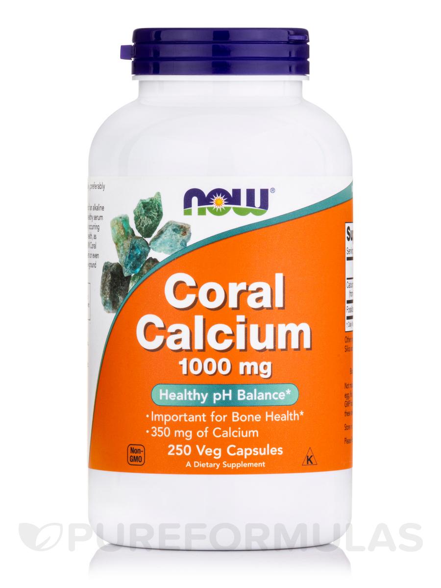 Coral Calcium 1000 mg - 250 Veg Capsules