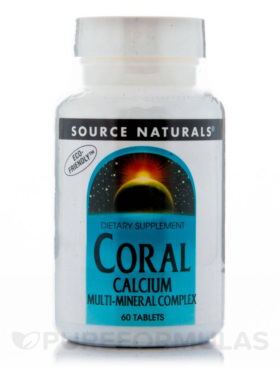 Coral Calcium Multi-Mineral - 60 Tablets
