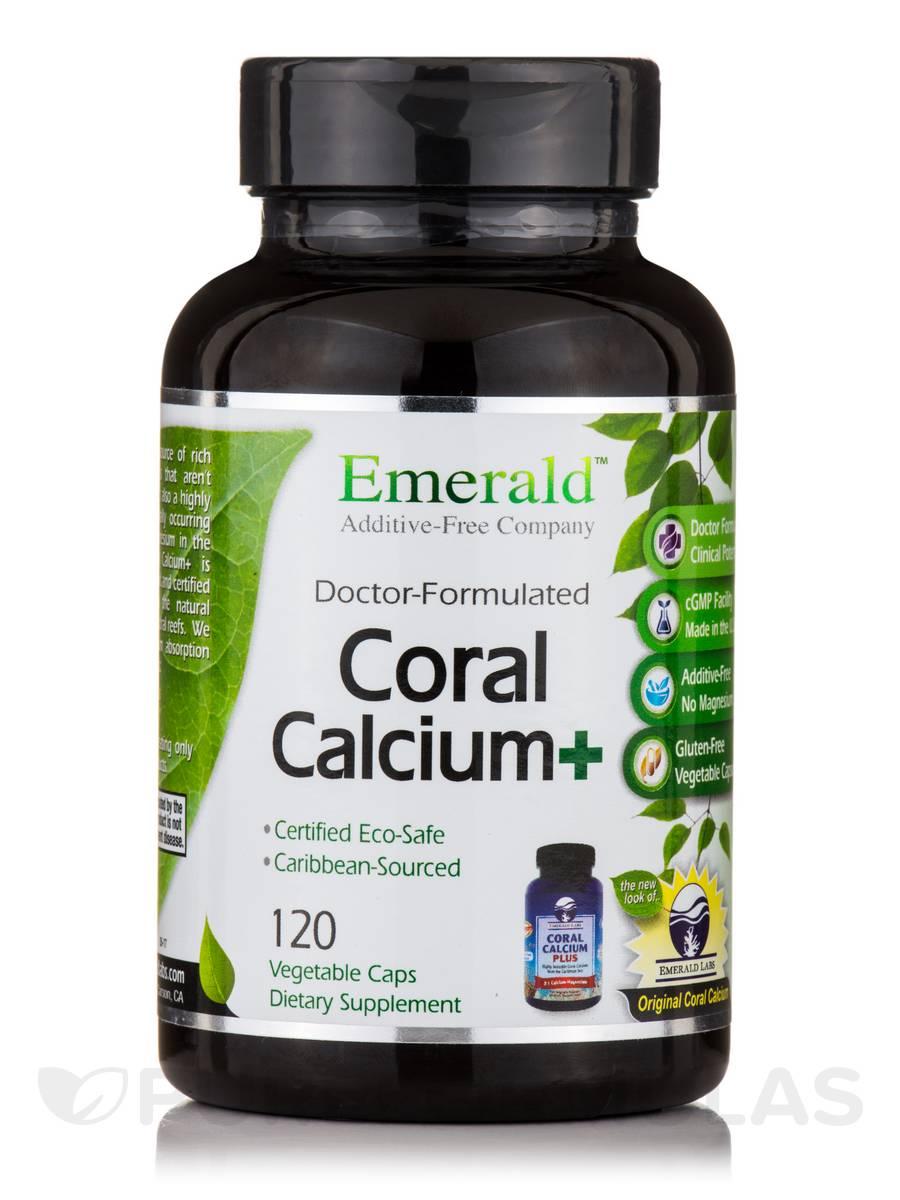Coral Calcium Plus - 120 Vegetable Capsules