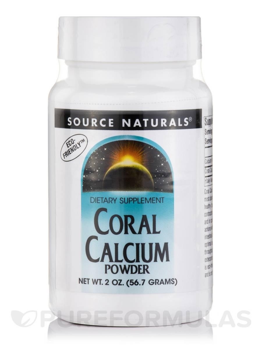 Coral Calcium Powder - 2 oz (56.7 Grams)