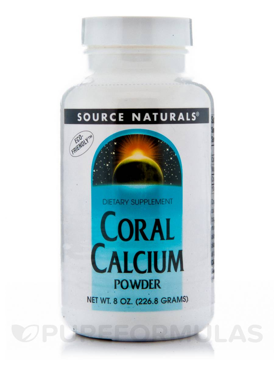 Coral Calcium Powder - 8 oz (226.8 Grams)