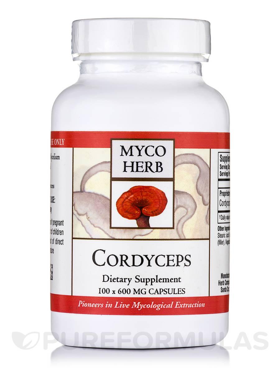 Cordyceps 600 mg - 100 Capsules
