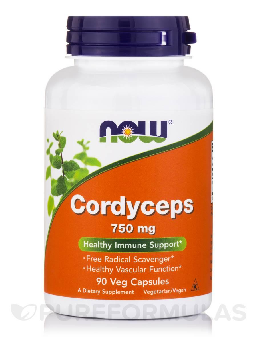 Cordyceps 750 mg - 90 Vegetarian Capsules