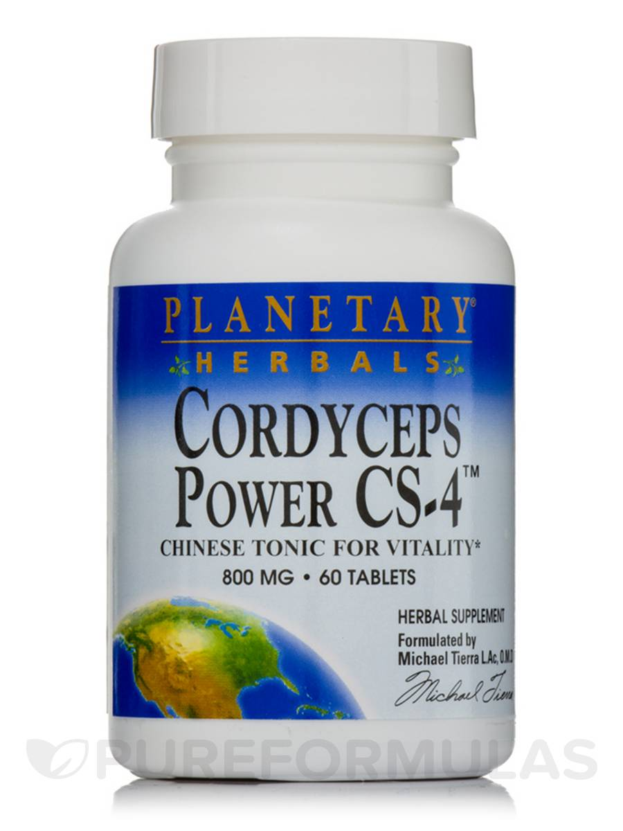 Cordyceps Power CS-4 800 mg - 60 Tablets