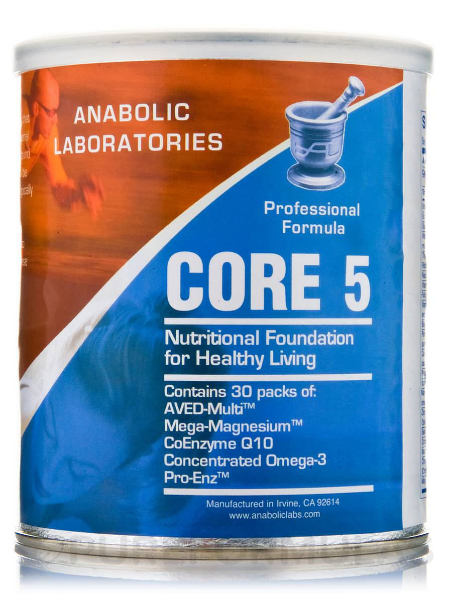 Core 5 Pack (Nutritional Foundation for Healthy Living) - 30 Packets