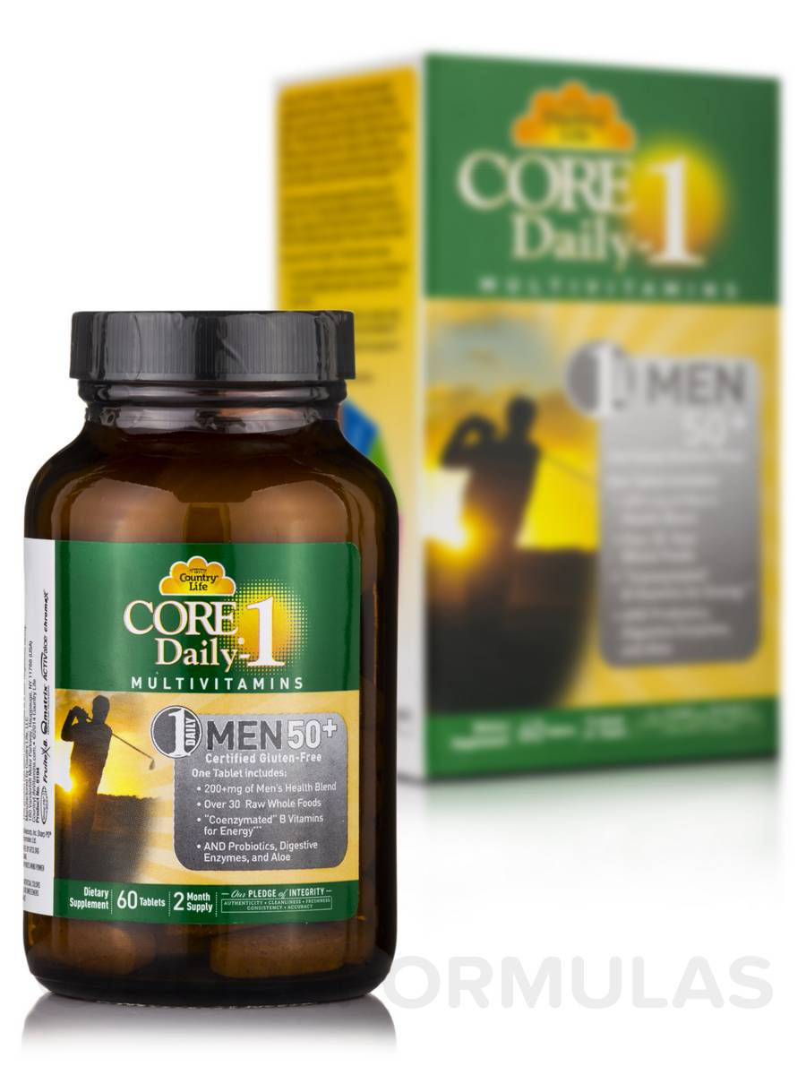 Core Daily 1® Multivitamin for Men 50+ - 60 Tablets