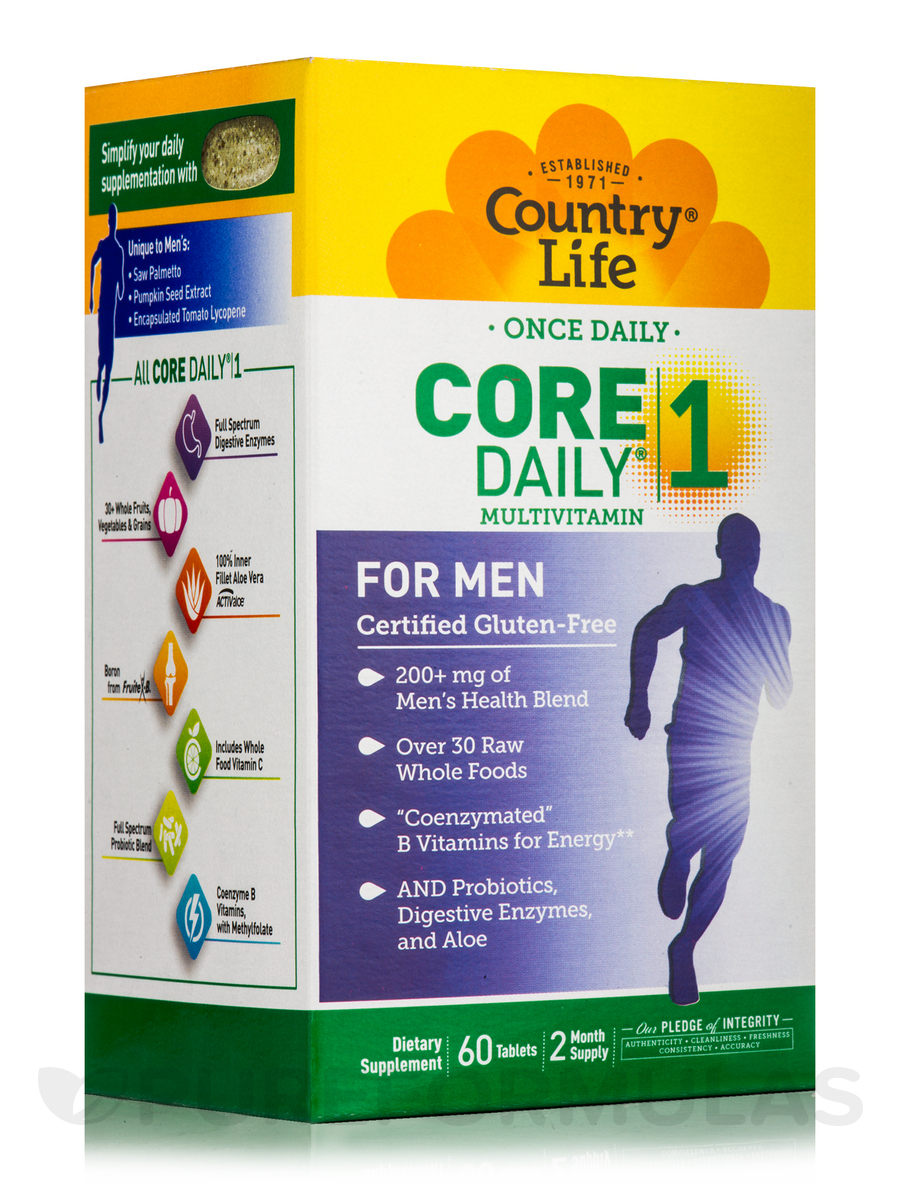 Core Daily 1® Multivitamin for Men - 60 Tablets