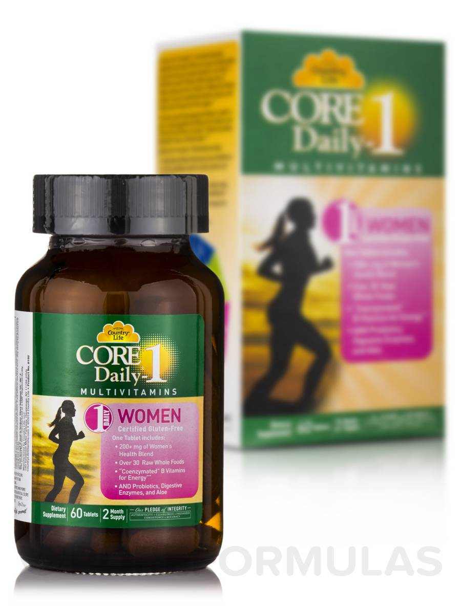 Core Daily 1® Multivitamin for Women - 60 Tablets