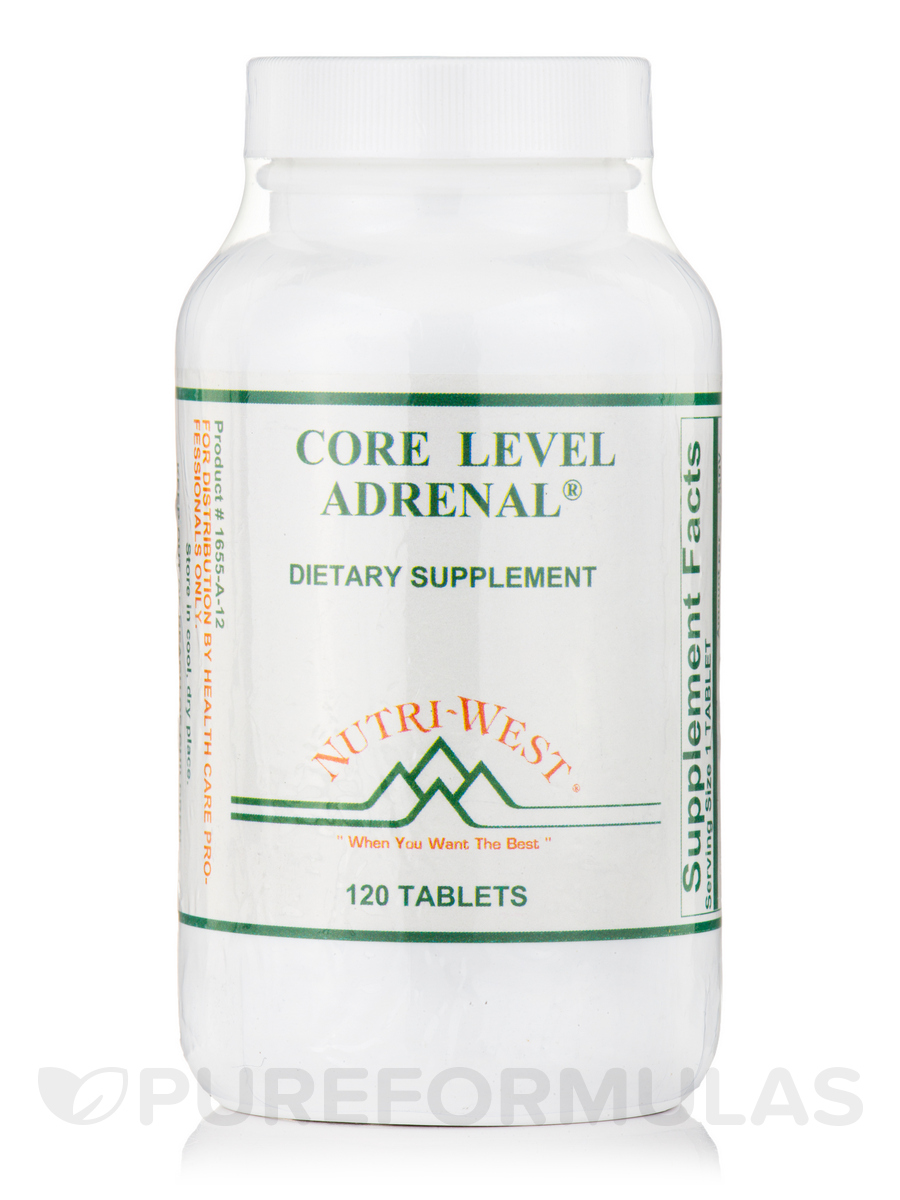 Core Level Adrenal - 120 Tablets
