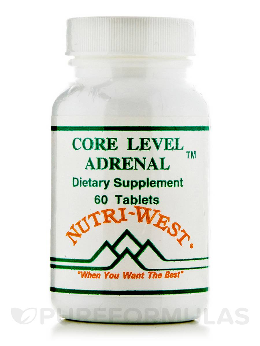 Core Level Adrenal - 60 Tablets