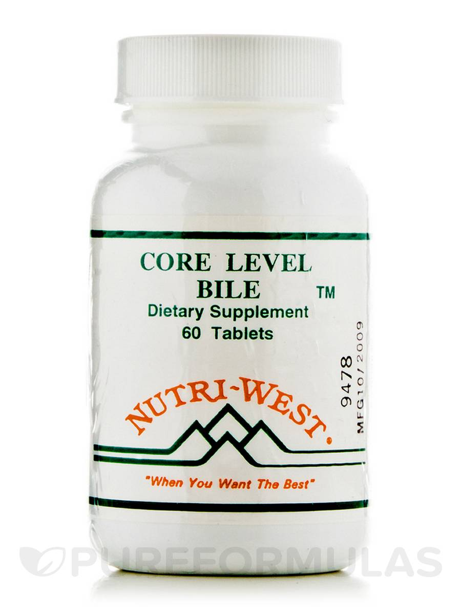 Core Level Bile - 60 Tablets