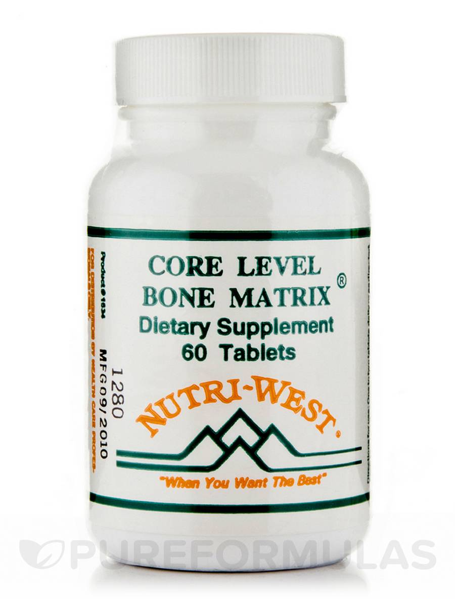 Core Level Bone Matrix - 60 Tablets