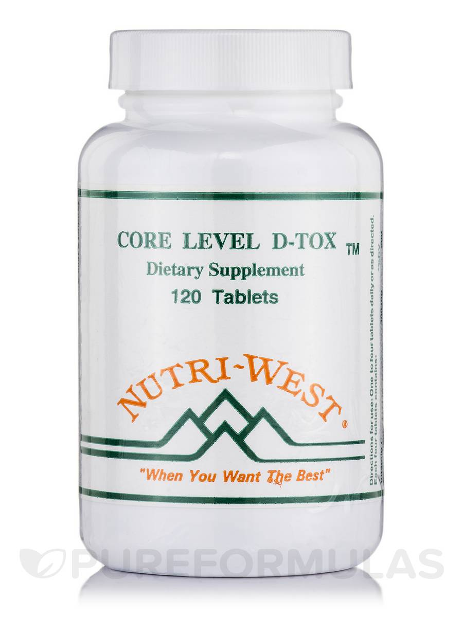 Core Level D-Tox - 120 Tablets