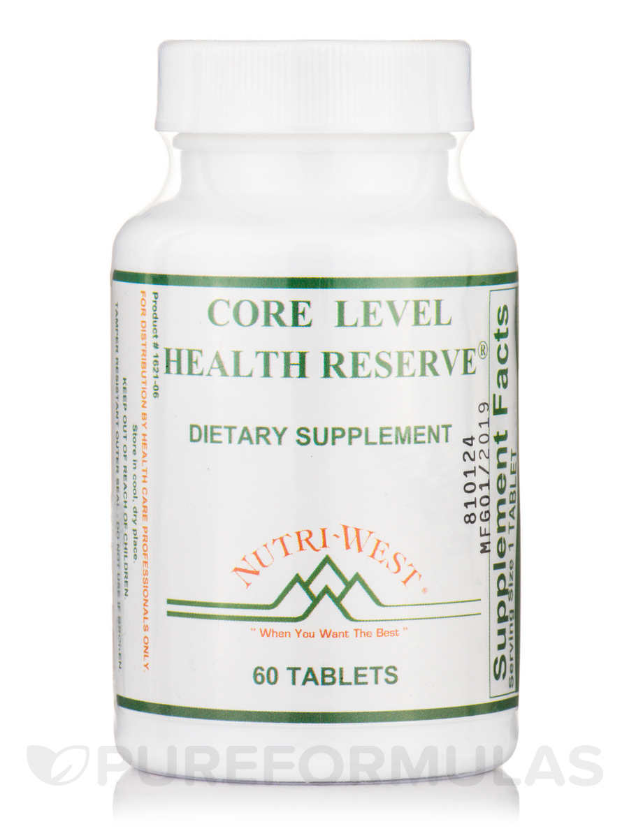 Core Level Health Reserve - 60 Tablets