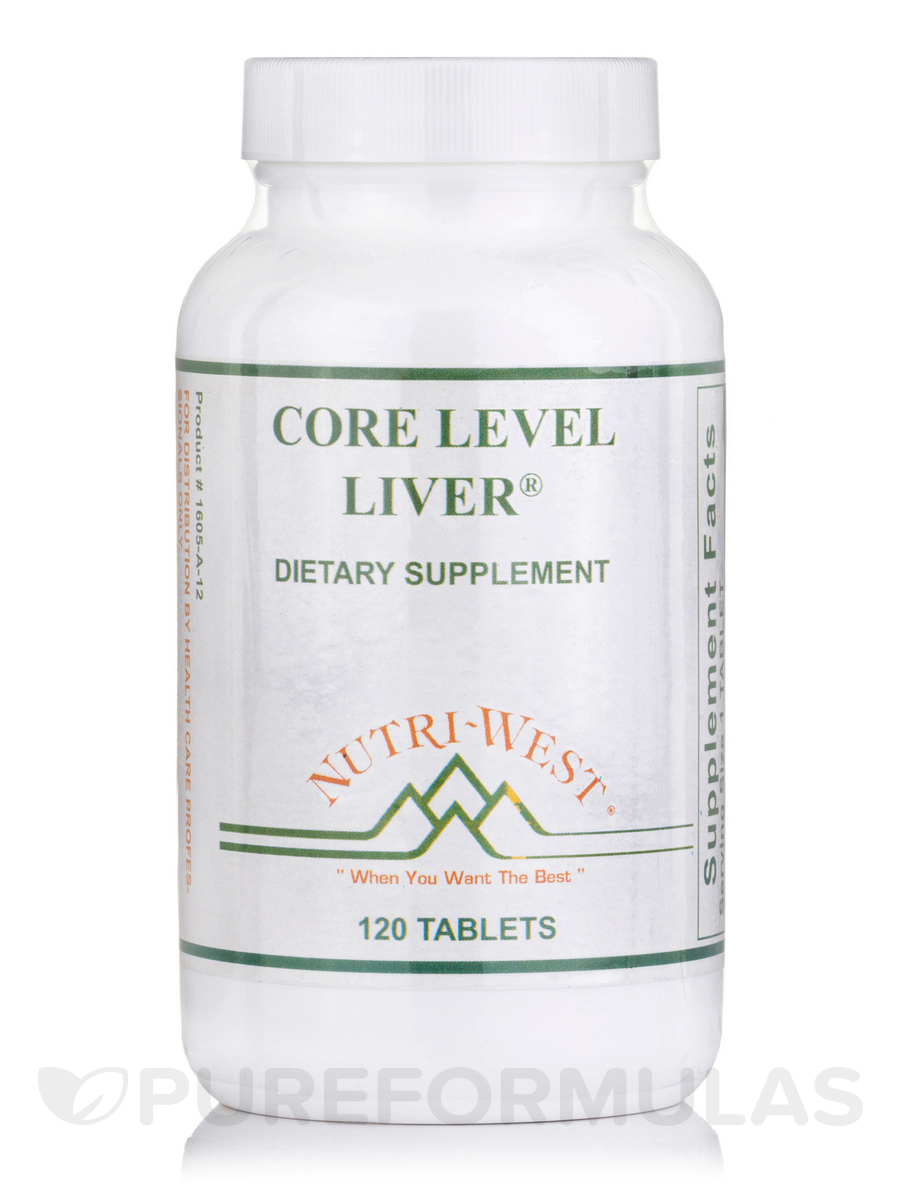 Core Level Liver® - 120 Tablets