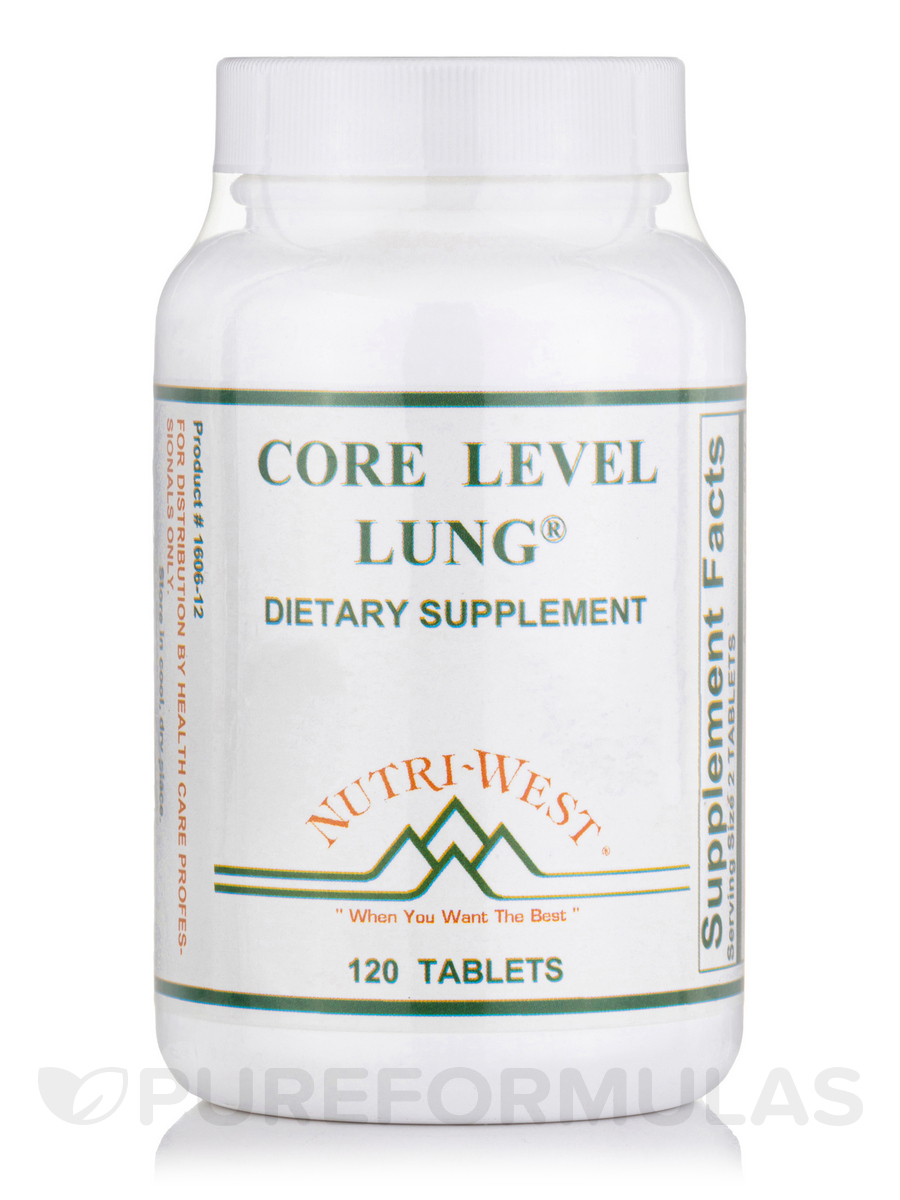 Core Level Lung® - 120 Tablets