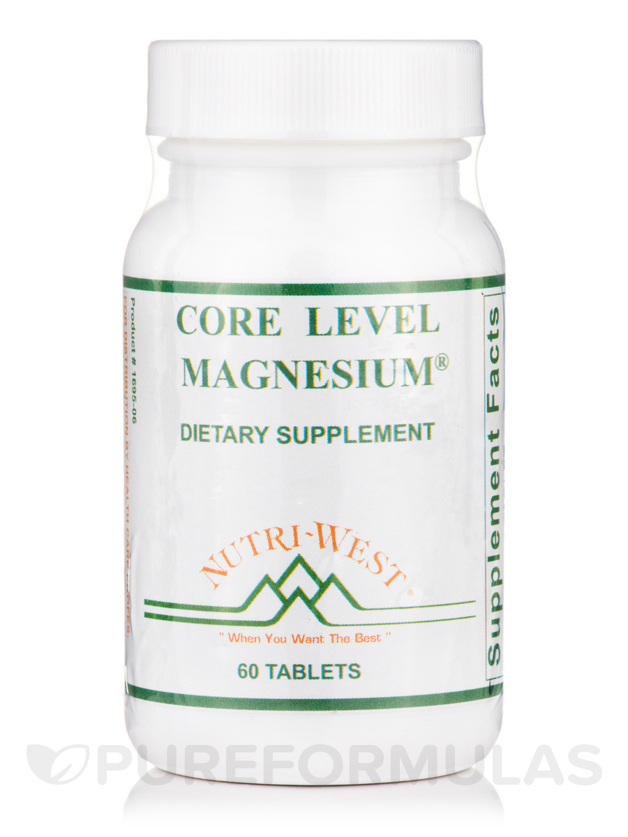 Core Level Magnesium - 60 Tablets