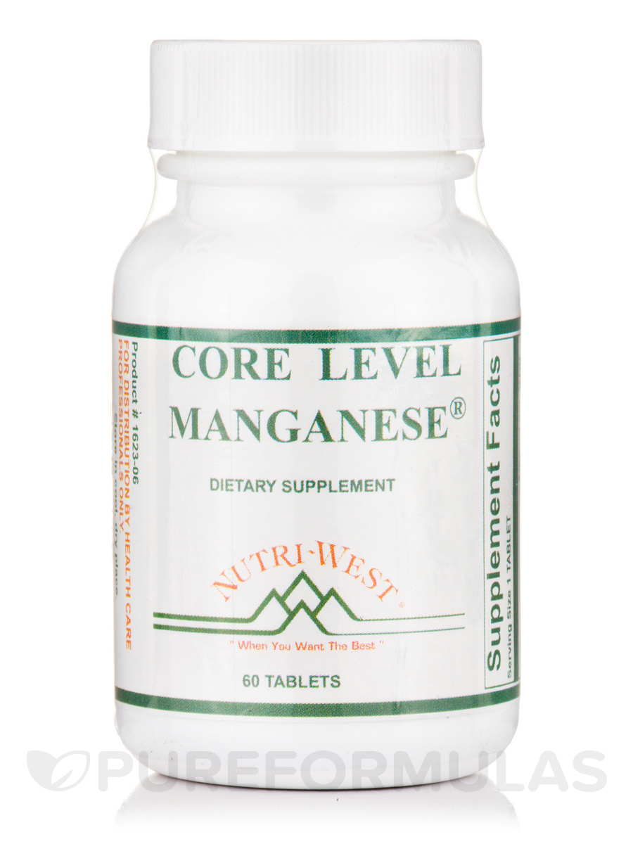 Core Level Manganese® - 60 Tablets