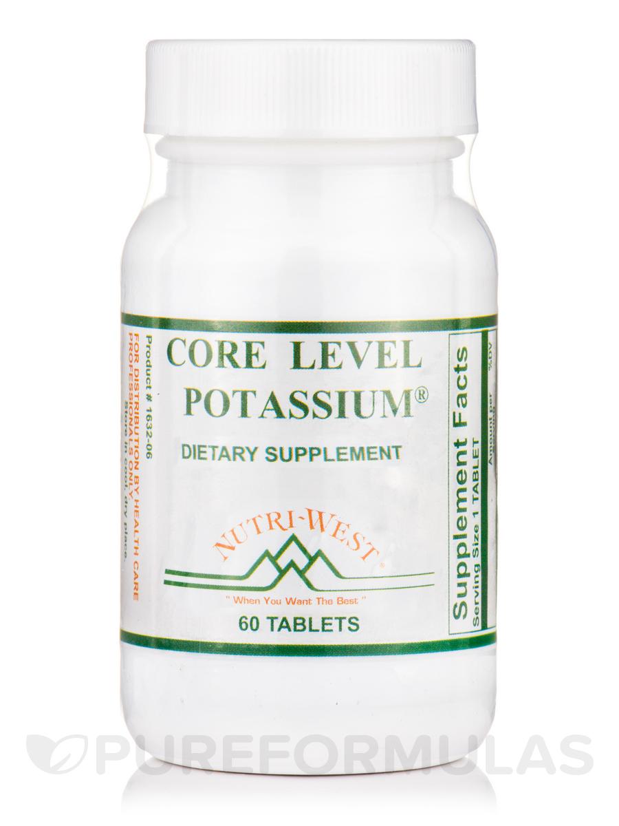Core Level Potassium - 60 Tablets