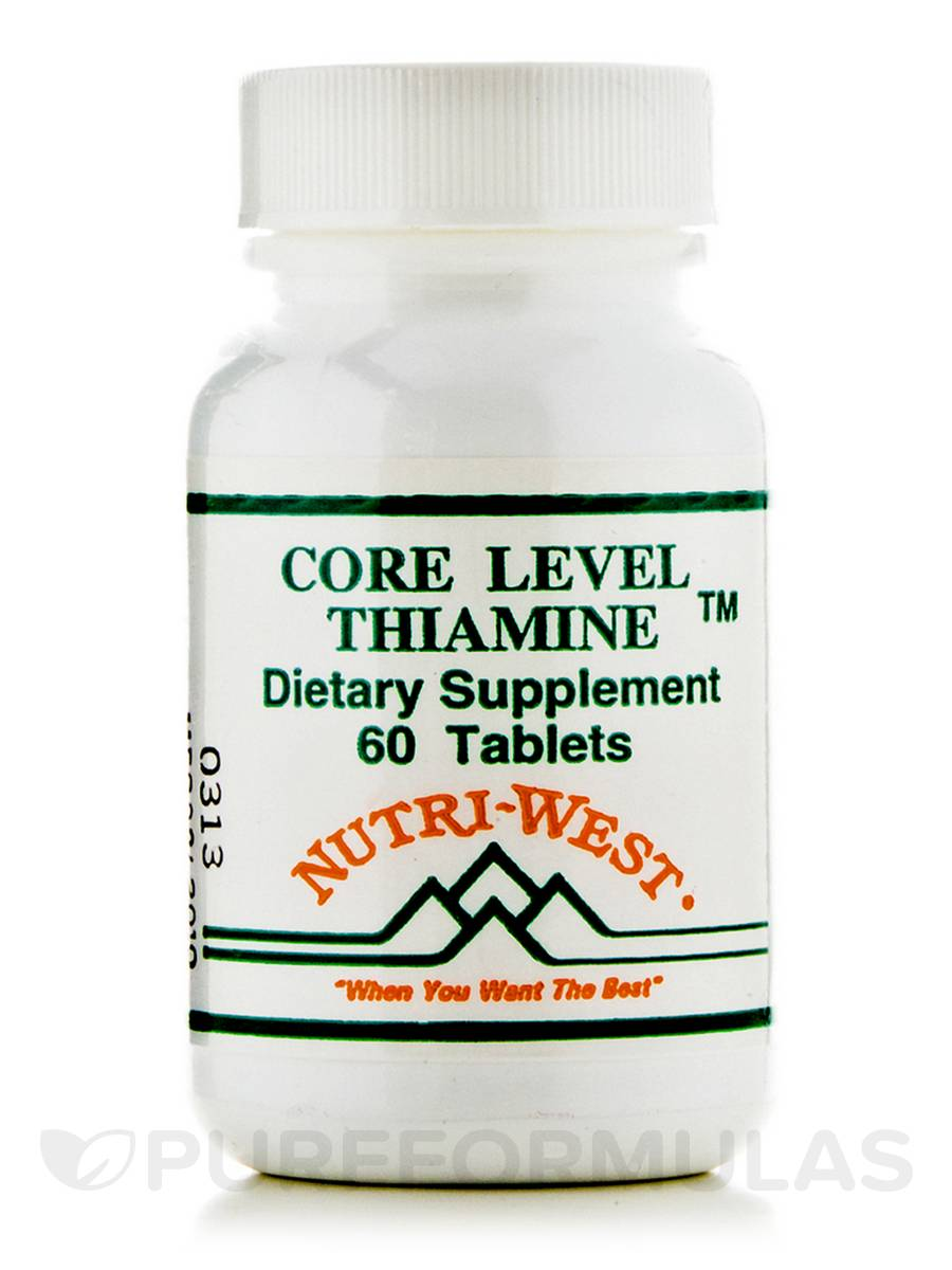 Core Level Thiamine - 60 Tablets