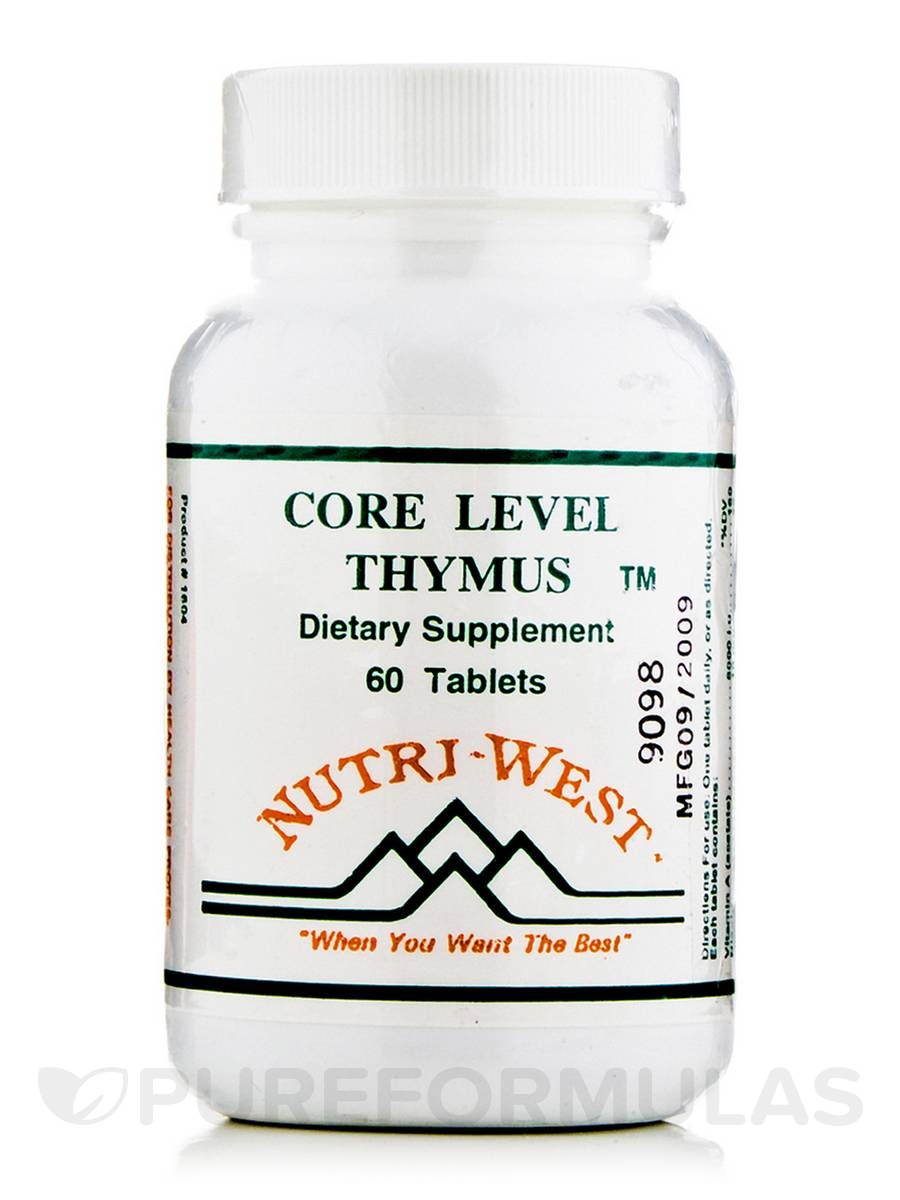 Core Level Thymus - 60 Tablets