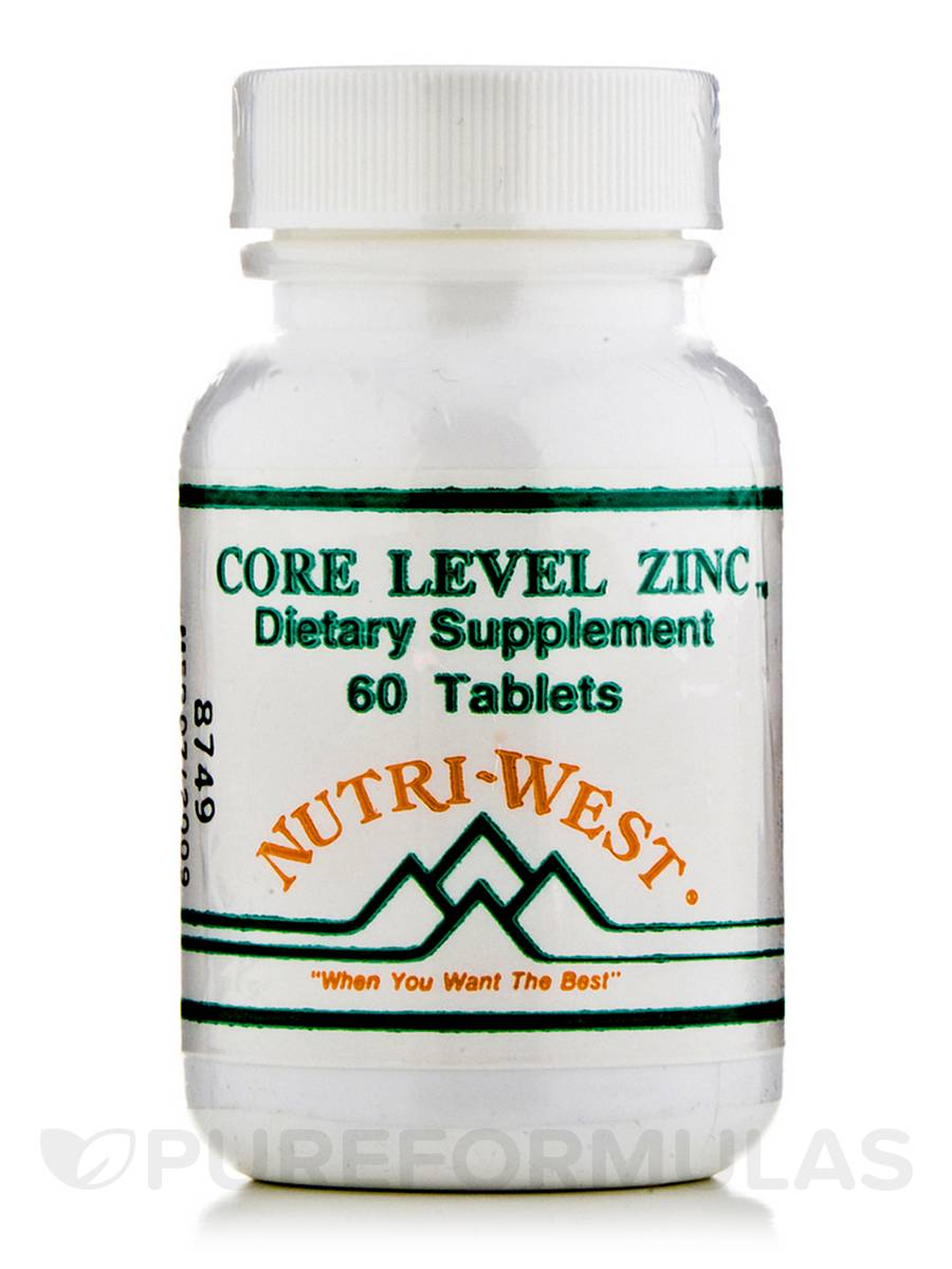 Core Level Zinc - 60 Tablets