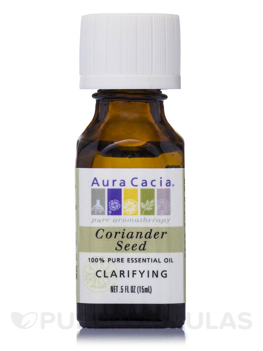 Coriander Seed Essential Oil (Coriandrum sativum) - 0.5 fl. oz (15 ml)