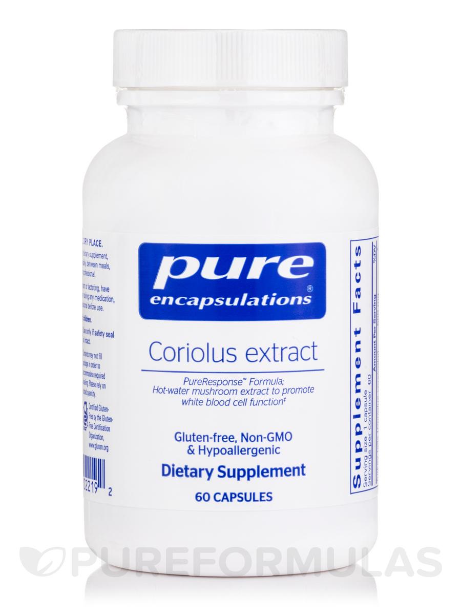 Coriolus Extract - 60 Capsules