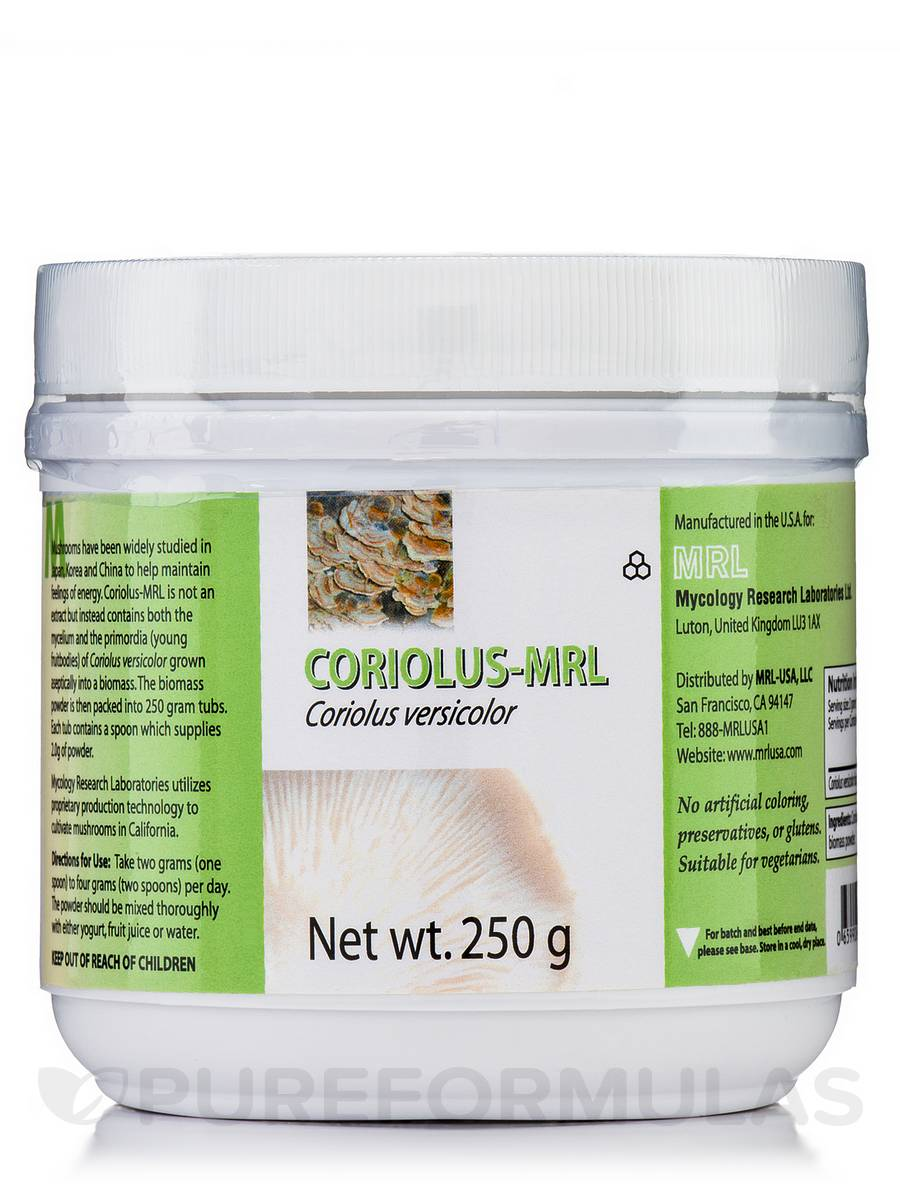 Coriolus Versicolor-MRL - 250 Grams