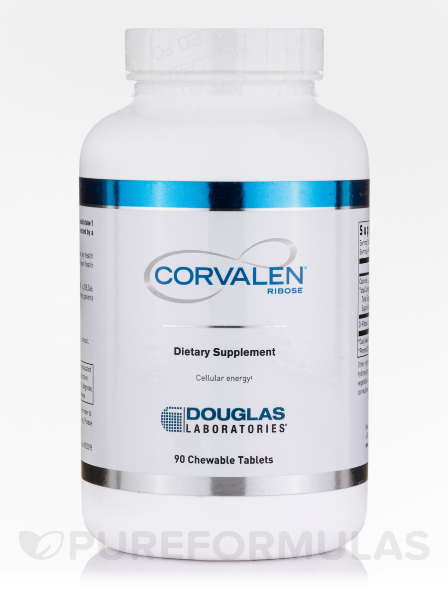 Corvalen® Ribose - 90 Chewable Tablets