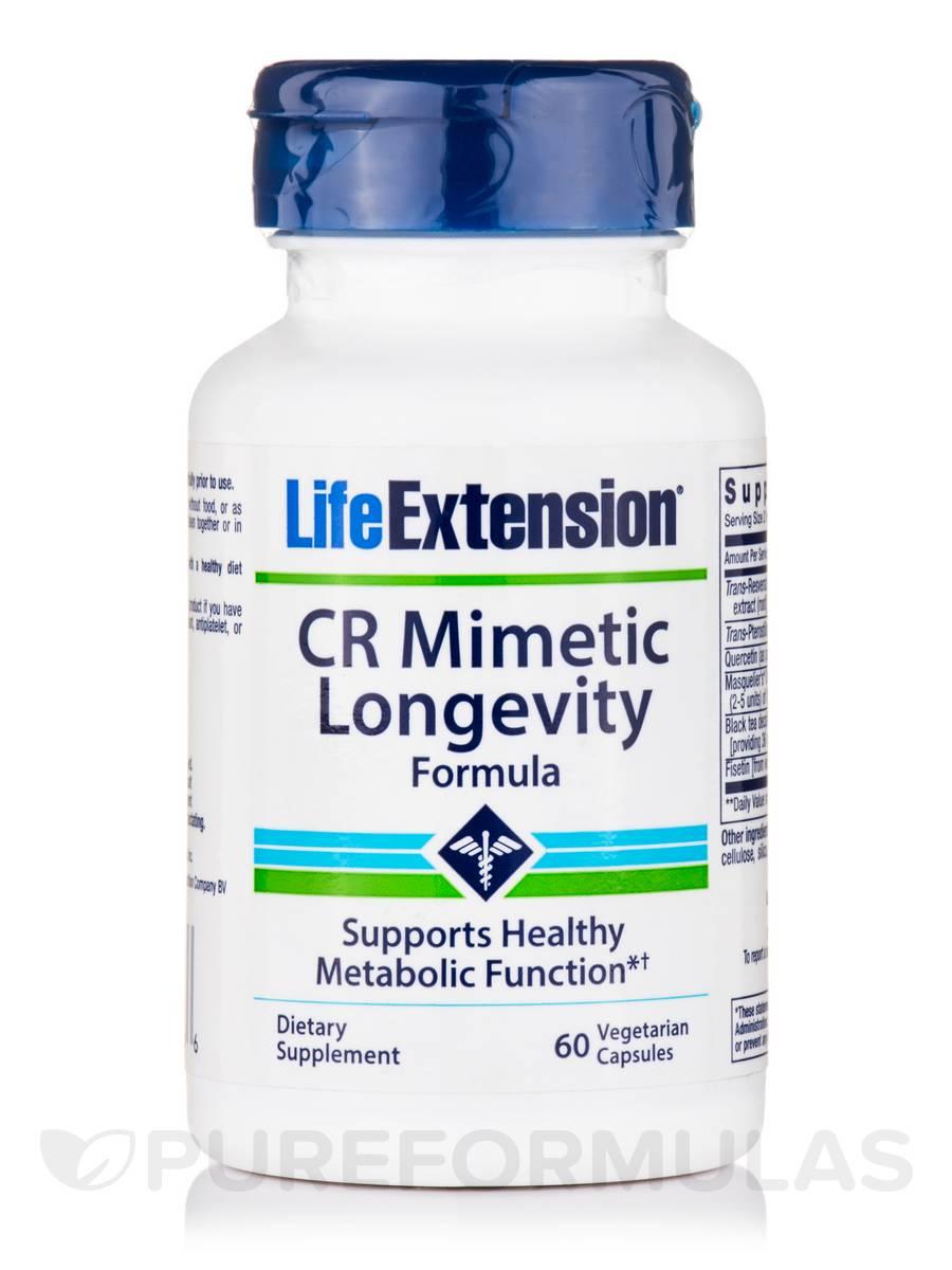 CR Mimetic Longevity Formula - 60 Vegetarian Capsules
