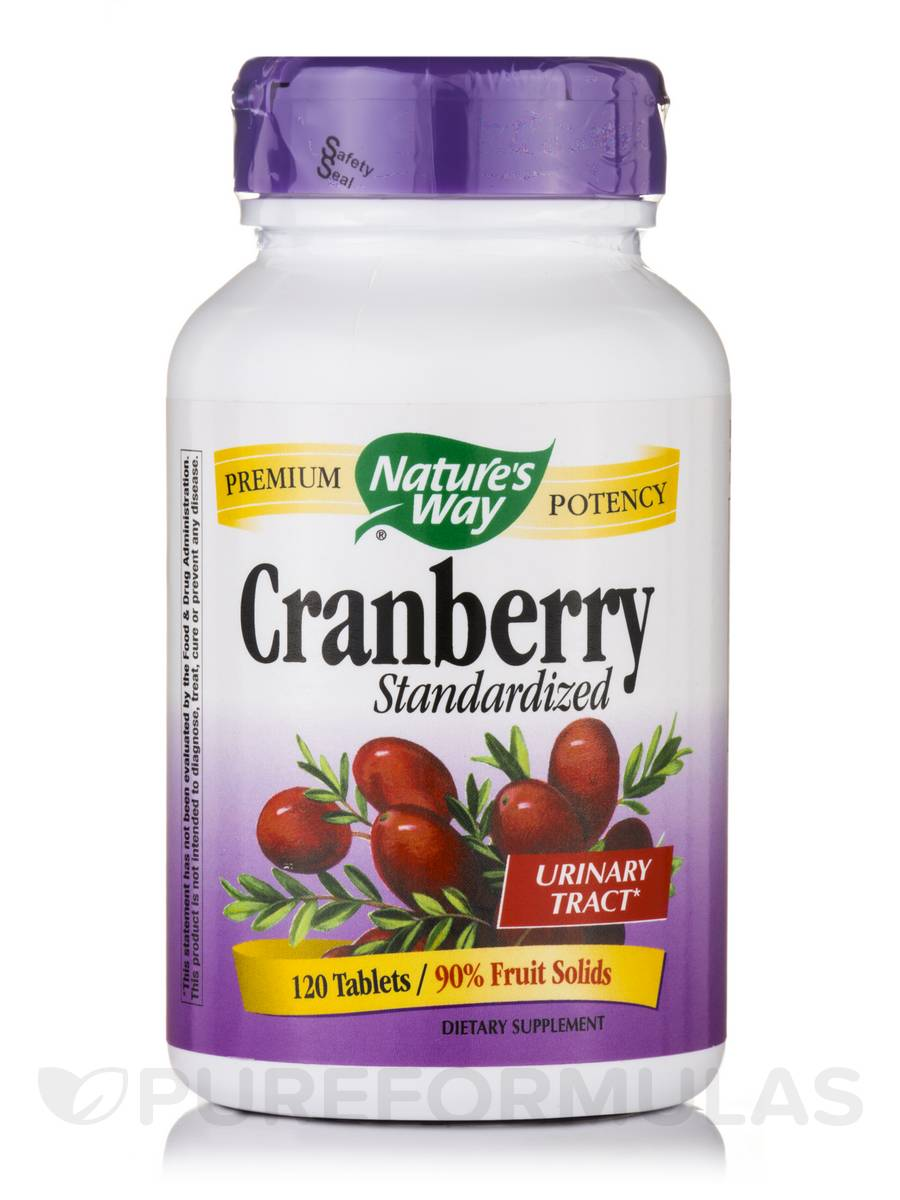 Cranberry - 120 Tablets