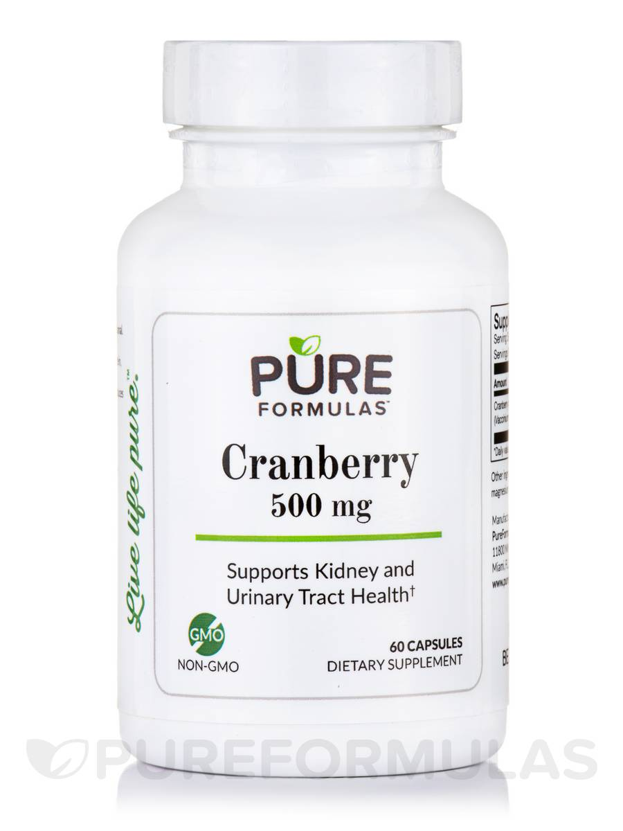 Cranberry 500 mg - 60 Capsules